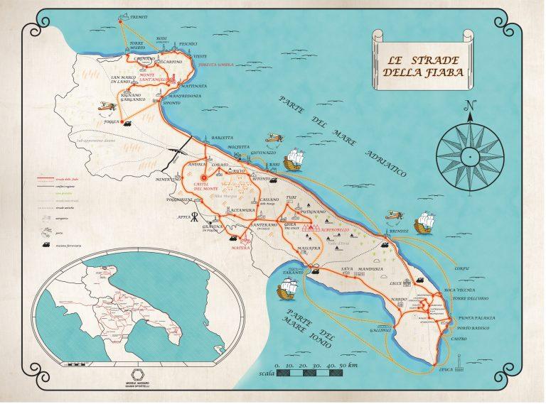 Le Strade della Fiaba, itinerario 1. Autore Michele Altieri