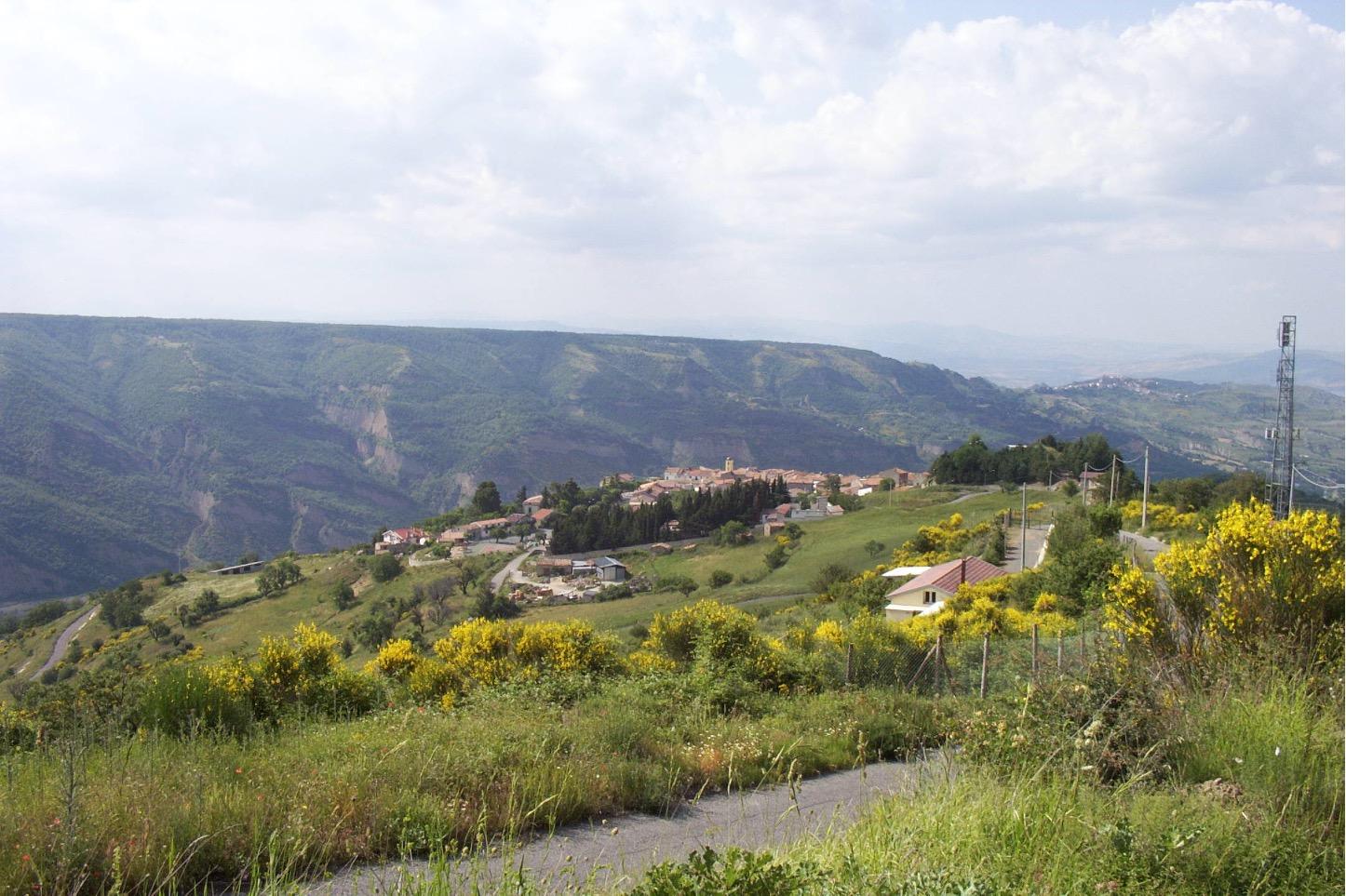 Contesto territoriale. Foto del Comune di San Paolo Albanese